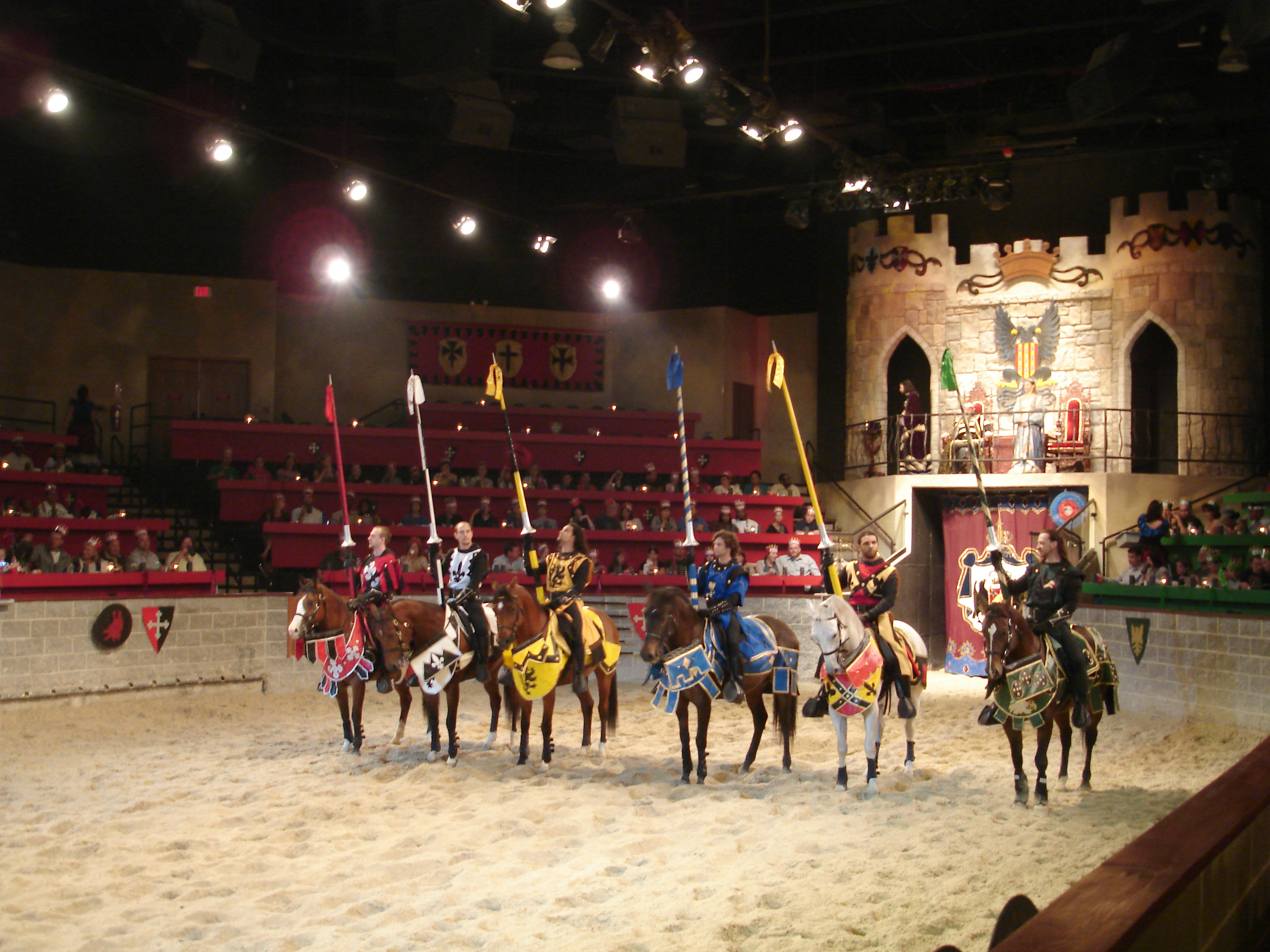 Medieval Times Baltimore is no longer available through Vacations Made Easy. It is unknown at this time when or if it will become available again/5.