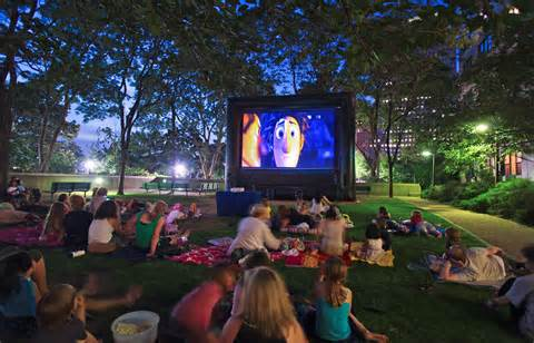 Outdoor movies this summer in Washington, DC