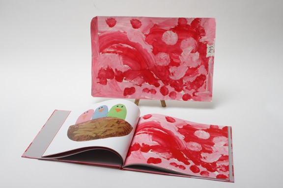 Plum Print: Children's artwork turned into a beautiful book