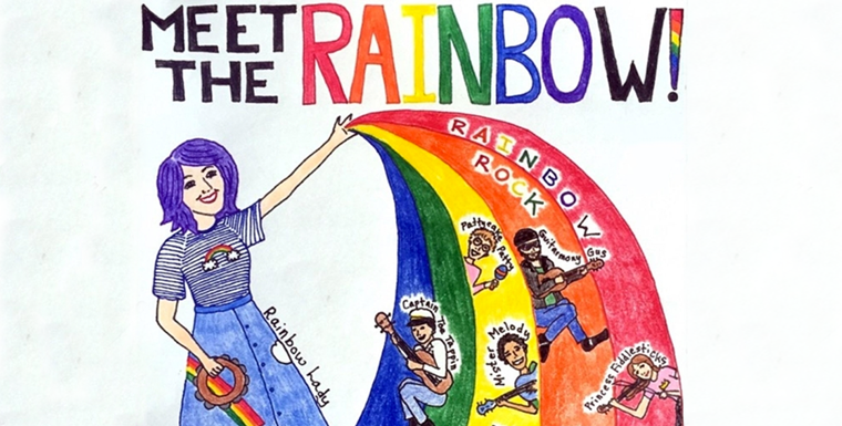RainbowRockslide