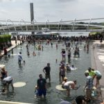Splash around at The Yards Park, Capitol Waterfront
