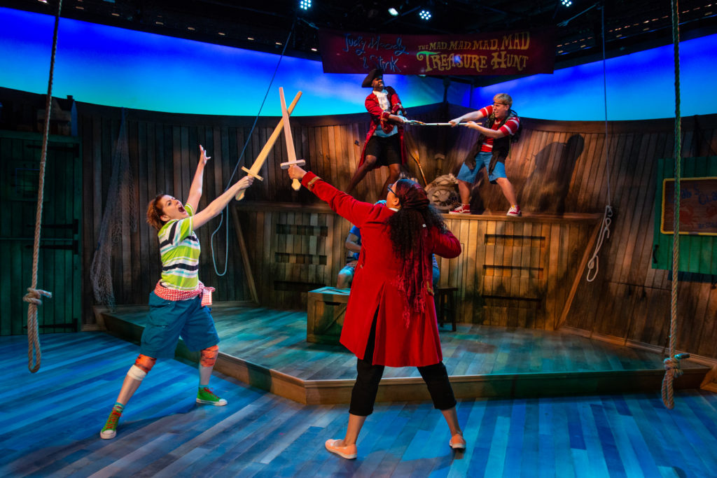 Judy Moodyand the Mad, Mad, Mad, Mad Treasure Hunt at Adventure Theatre + GIVEAWAY