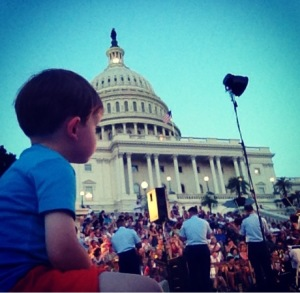 Live outdoor summer music in and around Washington, DC