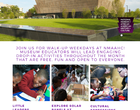 September Walk-up Weekdays at the National Museum of African American History and Culture
