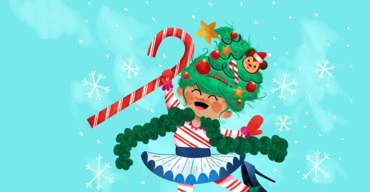 Fancy Nancy's Splendiferous Christmas at Adventure Theatre GIVEAWAY