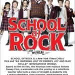 School of Rock {the musical} at National Theatre + GIVEAWAY
