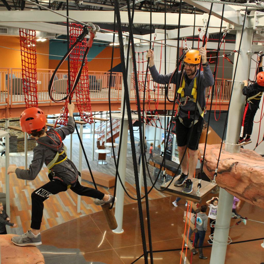 Summit Ropes Indoor Adventure Park