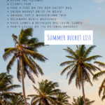 Summer bucket list in and around Washington, DC